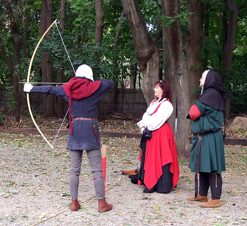 archery at Agincourt 2007