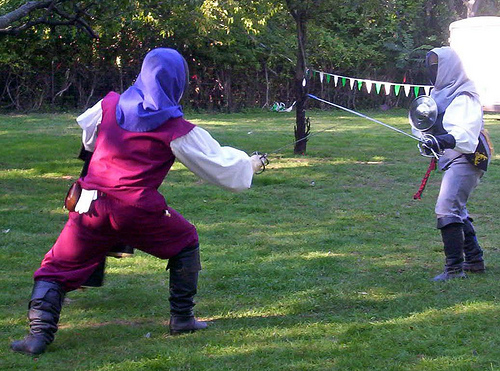 fencing at QCFFD 2008