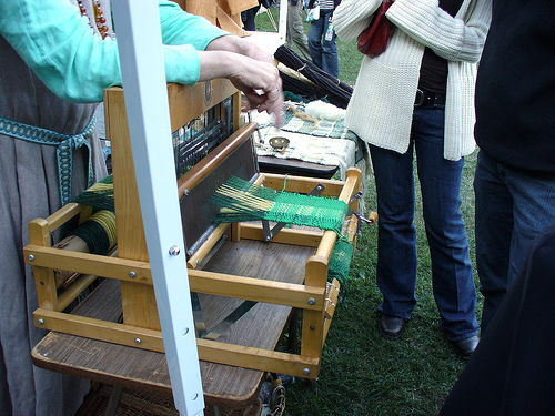 weaving demo 2006